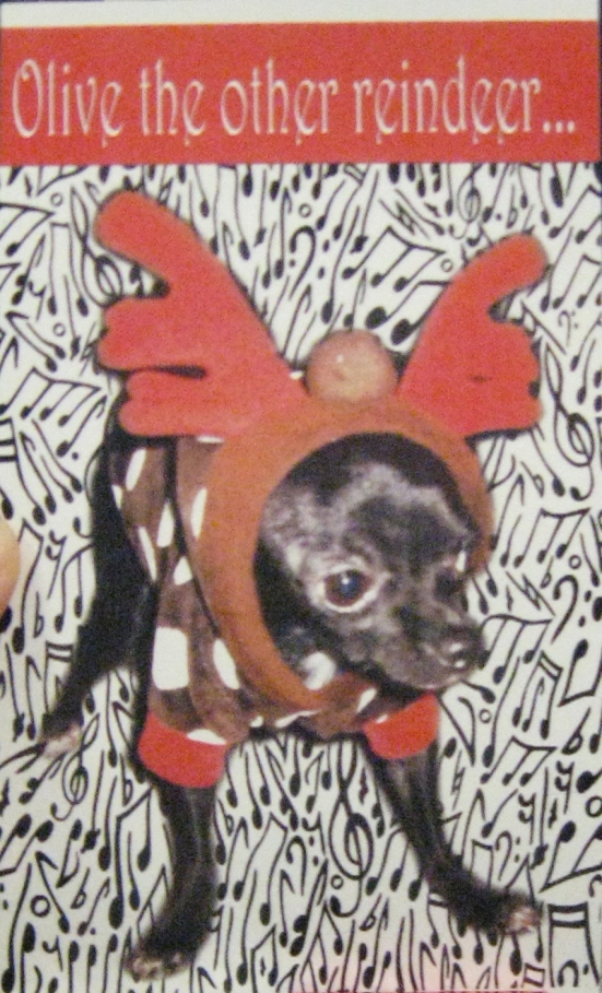 Olive the other reindeer...
