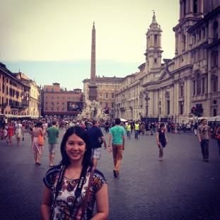 Mei in Pizza Navolo in Rome