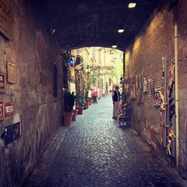 Side street in Orvieto