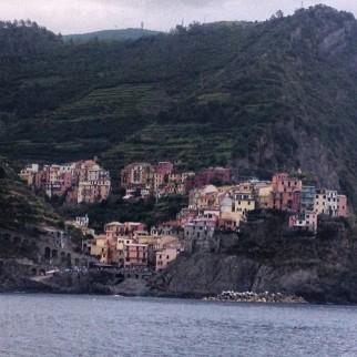 View of Riggamore in Cinque Terre