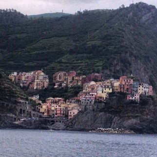 View of Riggamore in Cinque Terre