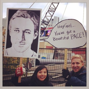 Ryan Gosling sign