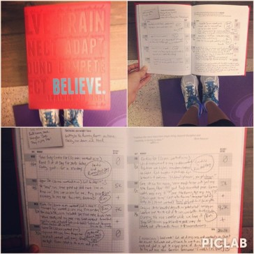 Mei's Believe I Am Training Journal