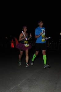 Mei and Dan still running stride for stride.